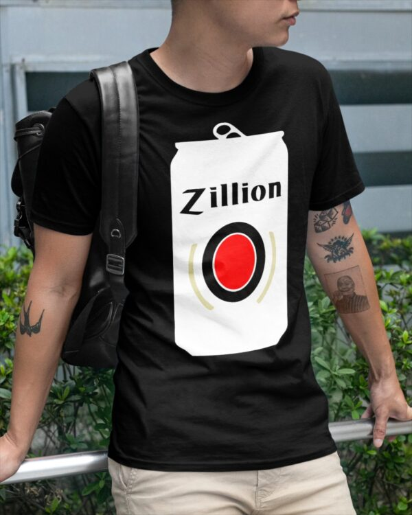 zillion beers can shirt